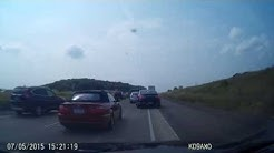 Bad Car Accident on Interstate 94 in Wisconsin