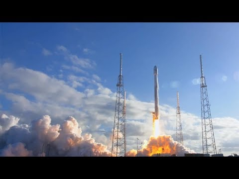 SpaceX Falcon 9 launches GovSat-1 (SES-16), 31 January 2018