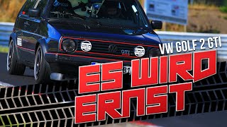 HOW DEEP? // NÜRBURGRING / VW GOLF 2 GTI 16V - ES WIRD ERNST