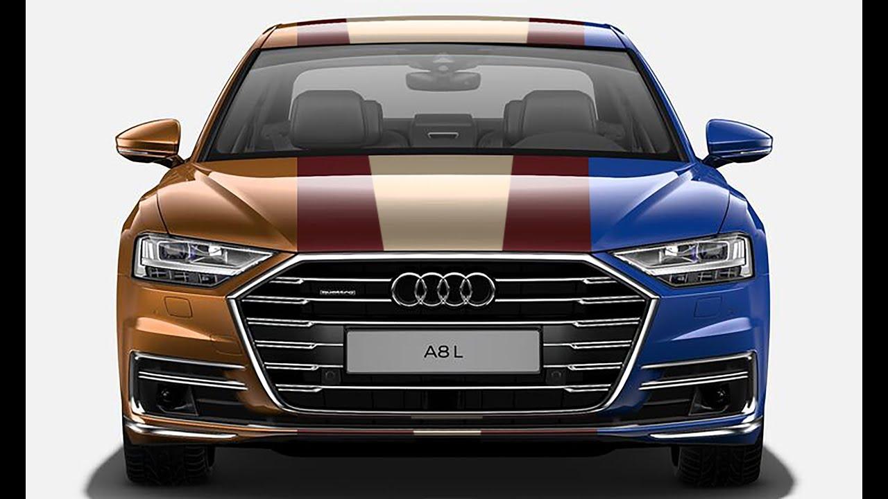 Audi AL Top Ten Color Options YouTube - Audi car colors