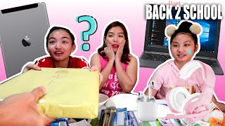 """MYSTERY BIG VS SMALL BACK TO SCHOOL SWITCH UP CHALLENGE 