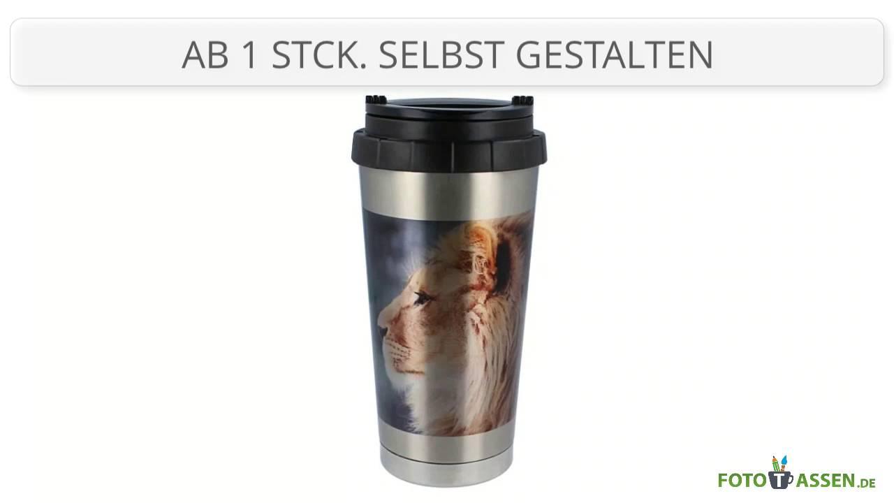 Edelstahl-Trinkbecher Silber