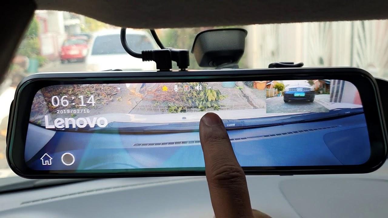 Lenovo v7 Dash Cam – Unboxing/Tutorial/Installation/Review