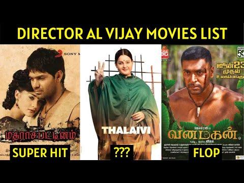 Director AL Vijay Movies List | Hits and Flops | Cine List