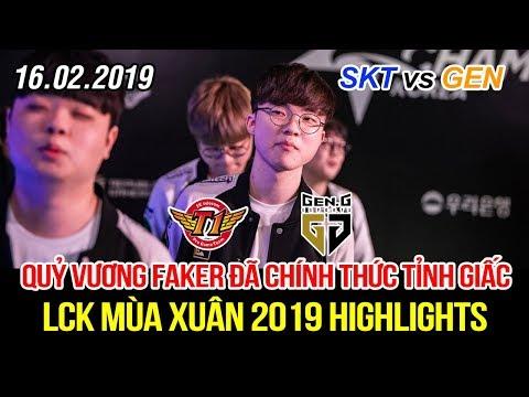 [LCK 2019] SKT vs GEN Game 2 Highlights | Faker Leblanc, Khan Jayce, SKT thức tỉnh và nổi giận