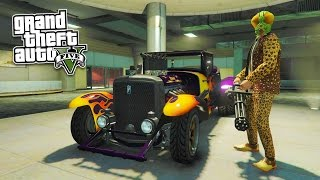 GTA 5 - SLASHER ADVERSARY MODE!  HALLOWEEN SURPRISE DLC SHOWCASE! (GTA 5 DLC Gameplay)
