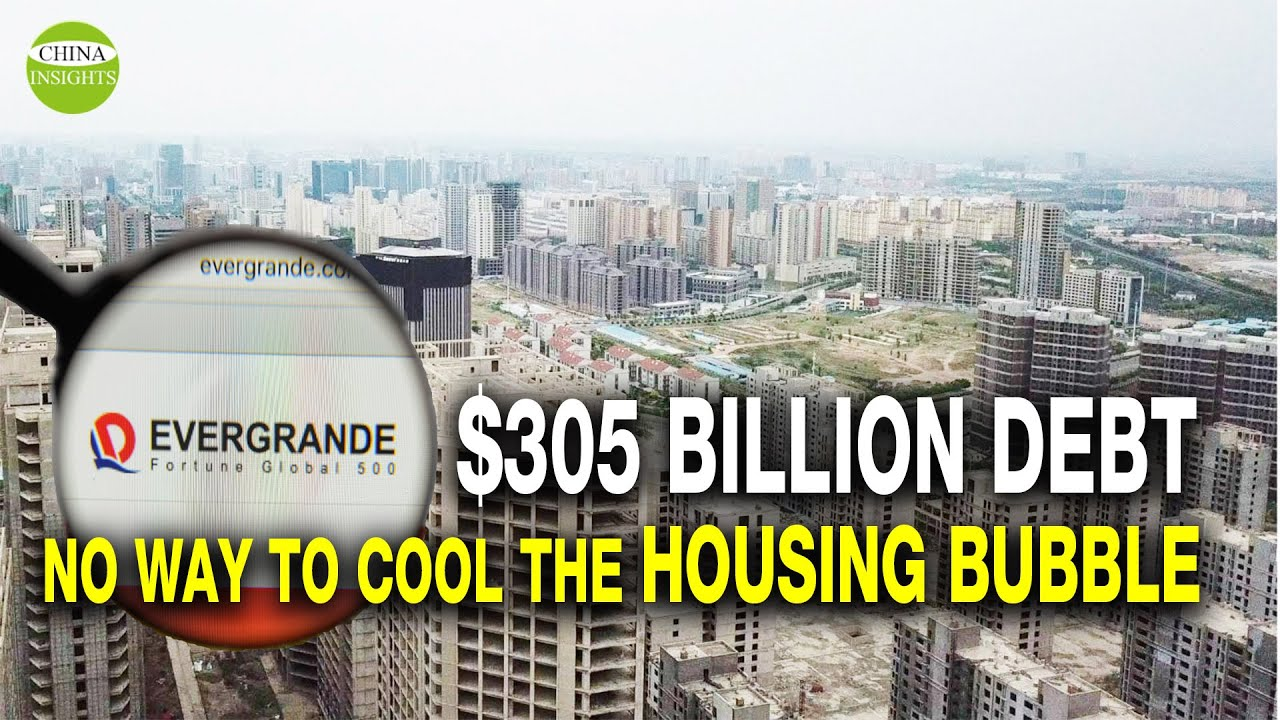 Evergrande Is Near Systemic Collapse in China's House Bubble Burst of 2022 - The Last Futurist