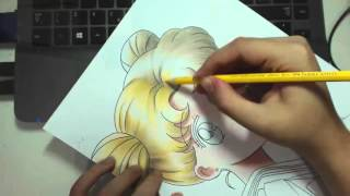Speed Drawing - Tsukino Usagi (Sailor Moon)