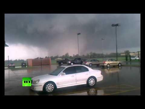 Raw Video: Deadly Oklahoma tornado caught on tape