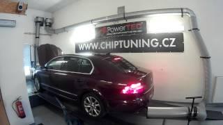 Chiptuning + měření výkonu Škoda Superb 1.8 TSI 118 kW