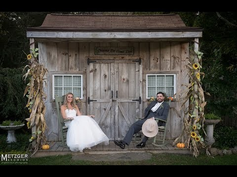 Bradley and Tara's Wood Acres Farm Wedding in Terryville, CT - YouTube