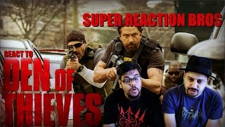SRB Reacts To Den of Thieves Official Trailer!!!!