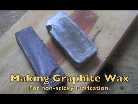 Making Graphite Wax