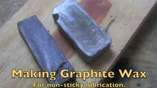 Making Graphite Wax
