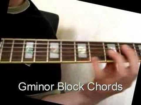 Guitar Lesson: Satin Doll comping block chords jazz - YouTube