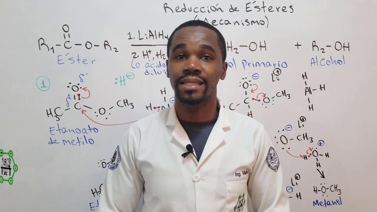Reducción de Ésteres con LiAlH₄ | Mecanismo de Reacción