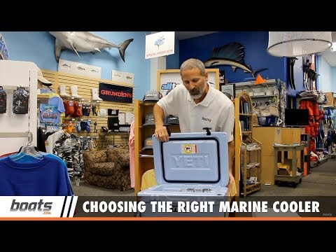 Boating Tips: Choosing the Right Marine Cooler