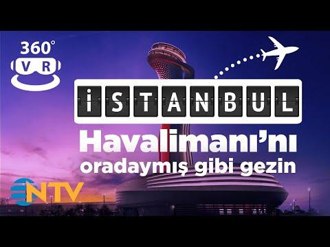 Sanal Gerçeklik İstanbul Yeni Havalimanı Tanıtımı