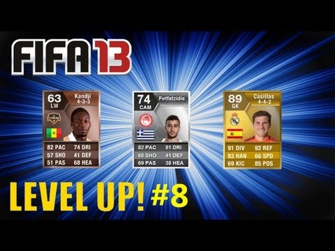 FIFA 13 - Level up #8  CROSS YOUR FINGERS! (FIFA 13 Ultimate Team)