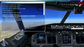Česky Komentovaný Gameplay - Flight Simulator X - Let 2 (Port Moresby-Sydney)