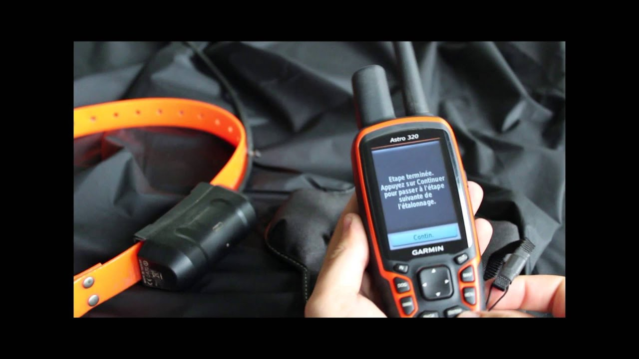 Lancer une nouvelle chasse sur le Garmin Astro 320 - YouTube