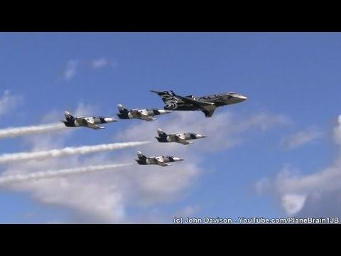 2014 Lehigh Valley Airshow - The Black Diamond Jet Team