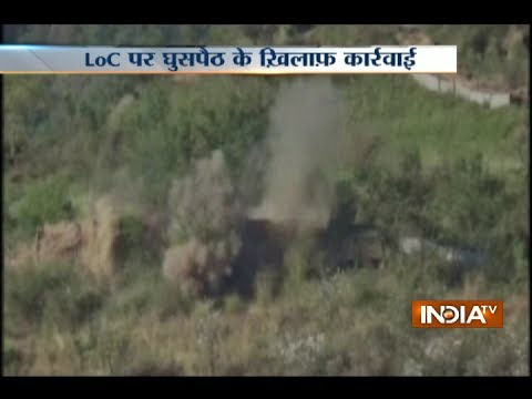 Thumbnail: Indian army destroys infiltration infrastructure on the LoC in Naushera, Pak posts targeted