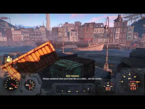 Fallout 4 with all expansion packs SURVIVAL mode Pt 27B