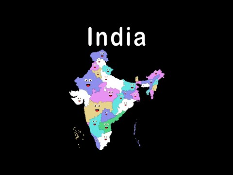 India's States and Capitals Song for Kids
