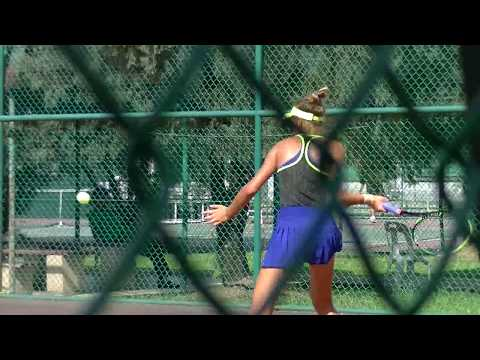 Mariya Krasakova (Rus) v Et Lynelle Lim (Sin), Day 1, ITF (International Tennis Federation 2017)