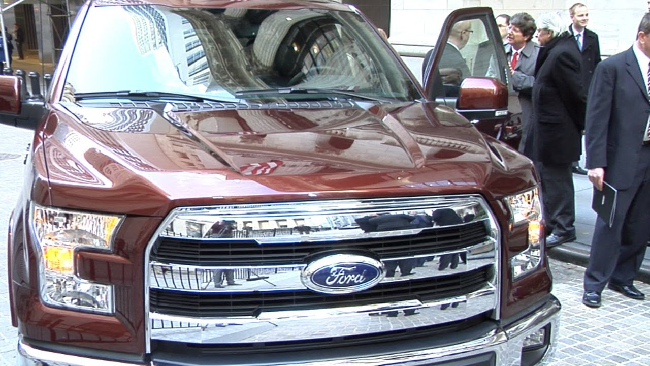 Ford Unveils New F150 Aluminum Truck With a Tricked-Out Tailgate