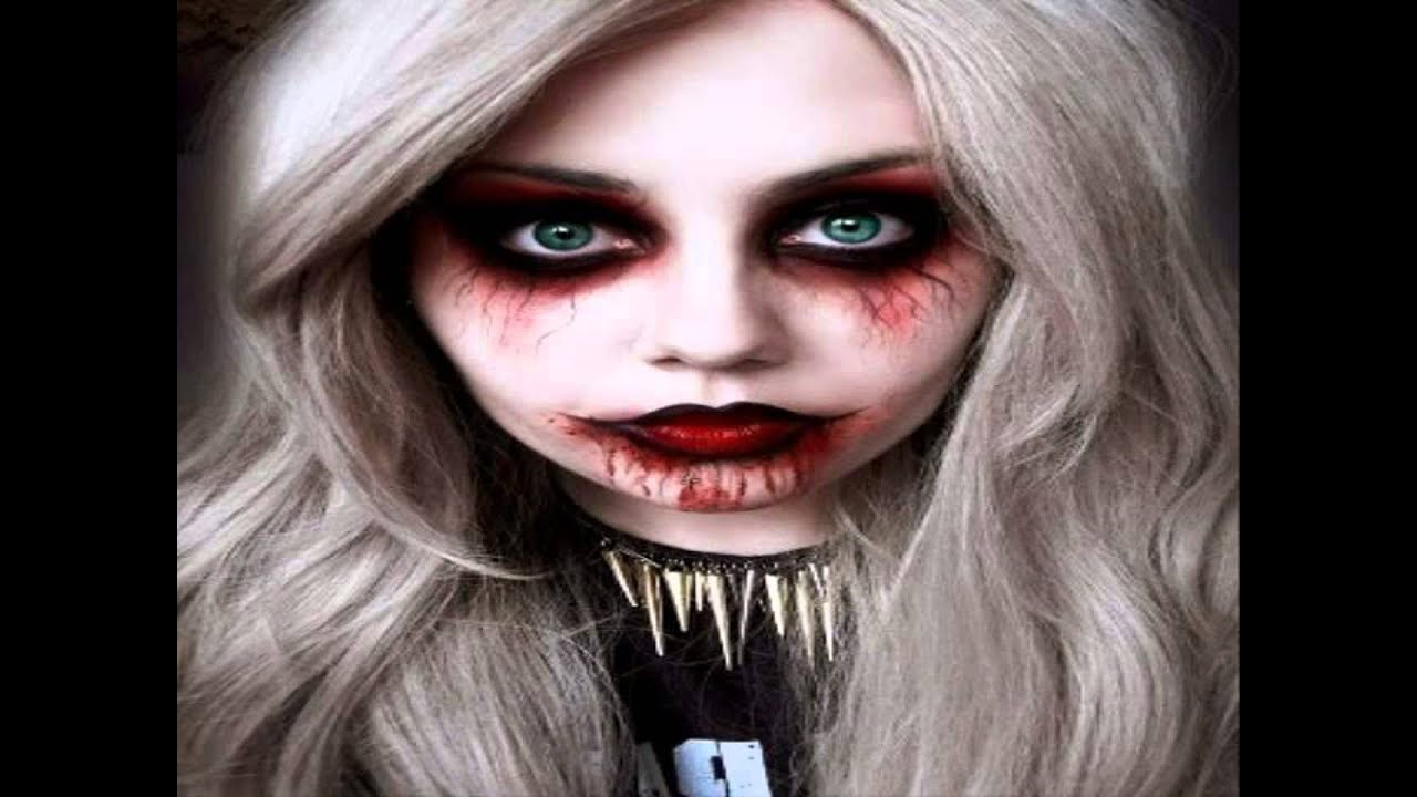 cool halloween makeup ideas - YouTube