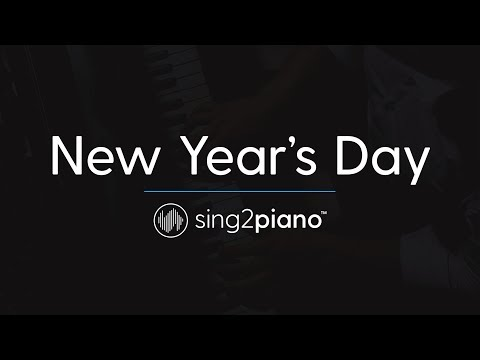 New Year's Day (Piano Karaoke Instrumental) Taylor Swift