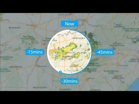 Radar inFocus for iPad - by Clear Day™ (NOAA/Europe Animated Radar)