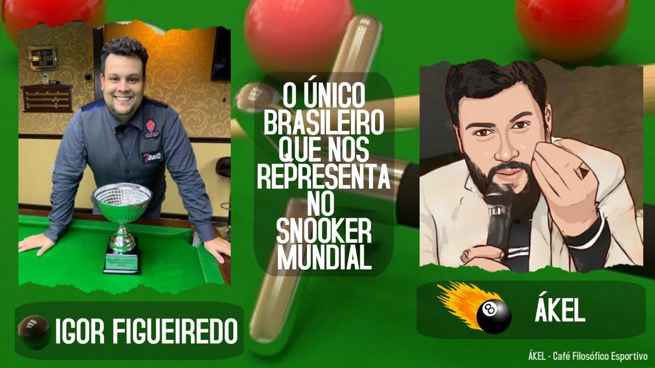 🎱 IGOR Figueiredo, o único brasileiro no Snooker Mundial no Café com Filosofia com AKEL