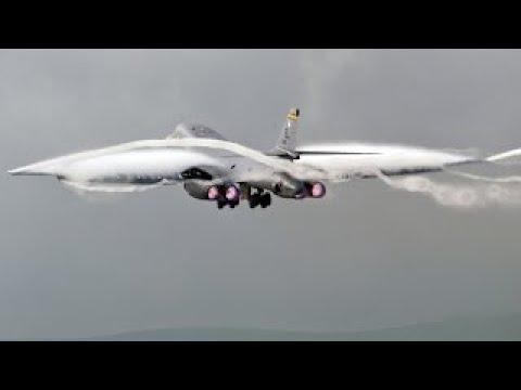 지구상 가장 빠르고 무서운 B 1B 랜서 초음속 전략 폭격기