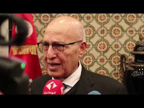 وزير الشؤون الخارجية يستقبل مستشار الرئيس الفلسطيني نبيل شعث
