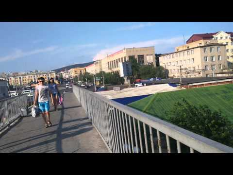 Привокзальная Чита-2: прогулка по перрону и виадуку (Заб.ж.д.)