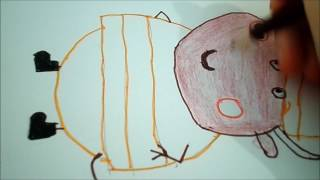 Pepppa Pig Drawing - Mr Bull | The Peppa Pig and MLP Show