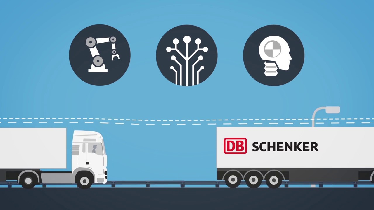 DB Schenker and MAN - partners for platooning! - YouTube