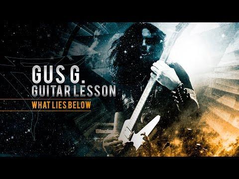 Gus G. Guitar Lesson - What Lies Below