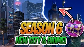 "*NEW* Fortnite Season 6 ""New Skins"" & ""New Citys"" LEAKED! 