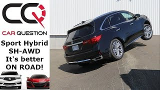 Sport Hybrid SH-AWD Diagonal TEST| Hybrid are not made for this stuff!! | 2018 Acura MDX