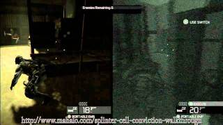 Splinter Cell Conviction Co-op Walkthrough Insurgency Pack - Lumber Mill - Hunter