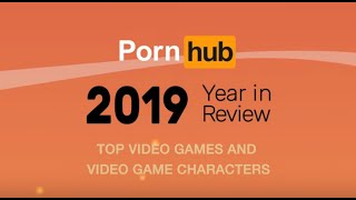 Pornhub's 2019 Year In Review with Asa Akira - Top video games and video games characters