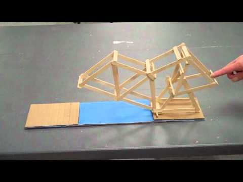 Working Bascule Bridge Model Youtube