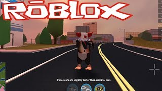 THE PINGUIN POLICE HACKER ON THE JAILBREAK (ROBLOX)