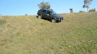 VW Golf 2 Country Test Offroad 4x4 Volkswagen