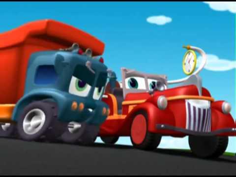 Финли Пожарная машина  3S11  Попробуй проехать