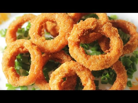 Onion Rings   Quick and Easy Appetizer Recipe   Kanak's Kitchen [HD]
